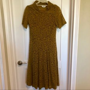 TOAST Mockneck lace dress